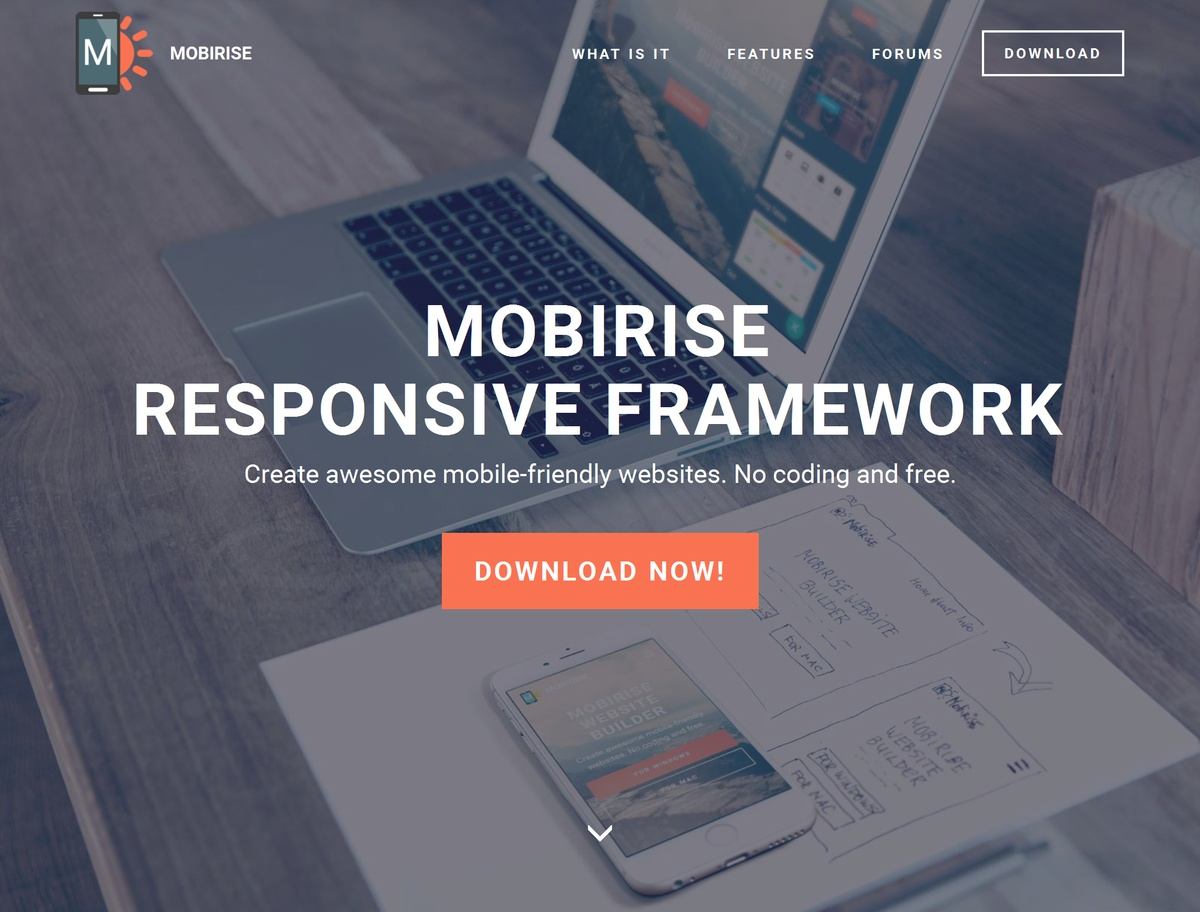Free Responsive Web Template